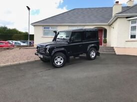 2006 late Land Rover Defender 90 2.5 TD5 County 3dr +++ 90 TD5 County 6 seater