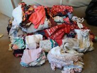 Girls & baby clothes bundle BARGAIN - entire wardrobe birth to 3 years