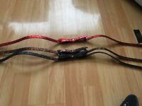 Tedbaker glittery bow belts size 0-1