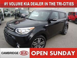 2014 Kia Soul SX / LEATHER / ONLY 15 KM