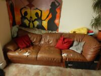 Free Sofa - 3 seater (used but comfy)