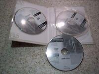 Genuine Jaguar XF XK XJ S-Type F-Type 2009-2010 SAT NAV DISC SET 3 SATELLITE NAVIGATION DVD ROM