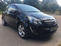 (63) 2013 Vauxhall Corsa 1.2 SXi 3 door. MOT/Service Due Oct 18 Full service History, 43K miles