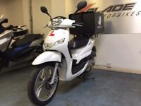 Peugeot Tweet 125cc Automatic Delivery Scooter, White, V Good Condition, ** Finance Available **