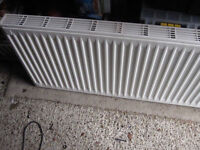 Radiator 500mm x 1100mm double panel single convector White