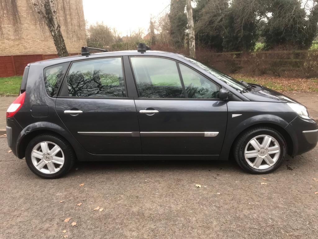 Renault scenic 1.6 16v dynamique auto, 2005, grey, 5 door hatch, 73k,  starts runs & drives | in Luton, Bedfordshire | Gumtree