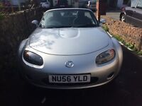 Immaculate Mazda mx5 convertible