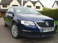 Volkswagen Passat Highline 1.9 TDI 2008. 2 owners.Years MOT.New cambelt, 4 tyres,rear brakes,service