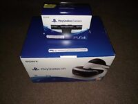 Playstation 4 VR Headset plus Camera V2
