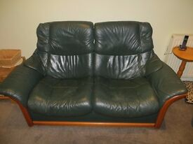 Stressless recliner settee and chairs