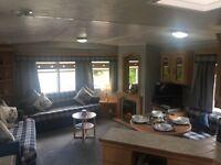 3 Bedroom Caravan for Hire at Turnberry Holiday Park nr Girvan.