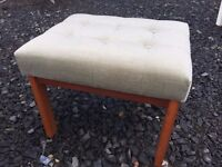 Lovely Stag furniture dressing table stool