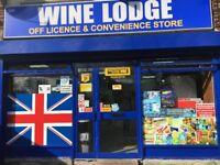 Off license shop for Sale