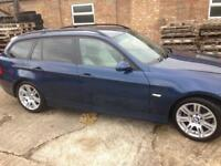 BMW 320D touring I drive leather DVD