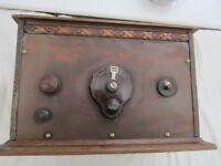 Vintage valve radio.