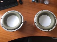 2 x 12 inch Vibe Space 3000W Subwoofers