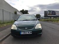 HONDA CIVIC AUTO 1.6 PETROL £350