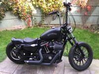 Harley Davidson 883 Iron 2015.