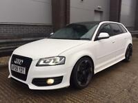 AUDI S3 TFSI QUATTRO SPORTBACK PAN ROOF RE MAPPED MILTEX DUMP VALVE SOUNDS AWESOME!