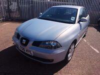 SEAT Ibiza Sport, 3 Dr, 1.4 petrol, Alloy Wheels, Air Con, 4 Good Avon Tyres, New MOT Will Be Inc.
