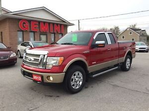 2012 Ford F-150 Lariat 4X4 Ecoboost Moon Roof