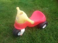 Little tikes ride on trike