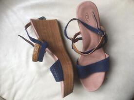 Leather sandals UGG