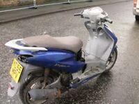 Honda ses 125 dylan blue spares or repairs