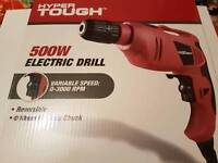 Hyper Tough Electric Drill 500W BRAND NEW!