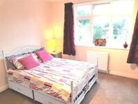 Beautiful, quiet, double bedroom,new furniture, TV (Virgin), fast broadband, £450pm inc bills