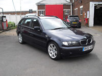 bmw 318 touring very good con very low miles for one of these cars all the bits e/w c/l etc