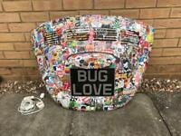 VW Beetle Decklid Lamp Stickerbomb