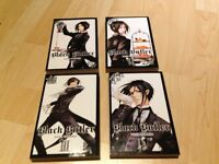 Manga books-Black Butler 1-4 in perfect condition