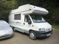 Citreon relay swift motorhome