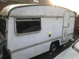 FREE Caravan Ideal for STORAGE - BANGER RACING