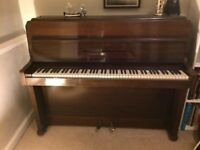 Knight overstrung piano for sale