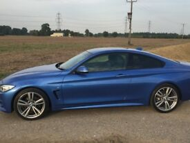 BMW 420 D Msport, Low mileage