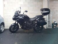 Kawasaki Versys 650 ABS 2015 Black Excellent condition with extras