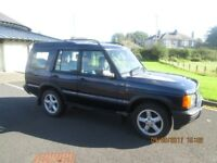 Landrover Discovery 2..51 Plate 5 seater, Solid chassis,just mot,d runs out 30 August 18 145k miles