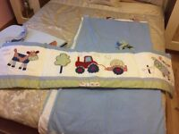 Cot bedding / curtains