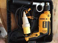 Dewalt 115v hammer drill