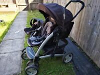 Graco Tour Deluxe 3-in-1 Buggy/Push chair, car seat and base