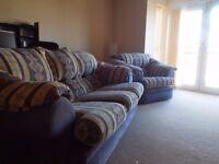 Free 2 Piece Suite Sofa