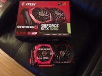 MSI GTX 1060 Gaming X 3GB Graphic Card Boxed Twin Frozr VI