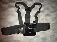 GO PRO CHEST MOUNT (USED - EXCELLENT CONDITION)