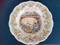 Royal Doulton Mice of Brambly Hedge plates