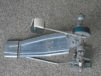 PEARL BASS DRUM PEDAL VINTAGE COMPLETE WITH BEATER