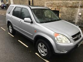 Excellent cond 2003 honda crv executive automatic low miles,1 owner from new full history,1 year mot