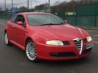 2006 ALPHA ROMEO GT 1.9 JTDM 2 DR * MANUAL * 1 YR MOT * S/HISTORY * LEATHER * DELIVERY * PART EX
