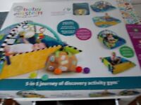 Baby Einstein 5-in-1 journey of discovery gym jumbo playmat and gym NEW SEALED